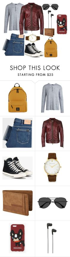 """""""Day out-Men's"""" by fruitsalad865 ❤ liked on Polyvore featuring Topman, Vince, PS Paul Smith, Belstaff, Converse, Larsson & Jennings, Billabong, EyeBuyDirect.com, Dsquared2 and B&O Play"""