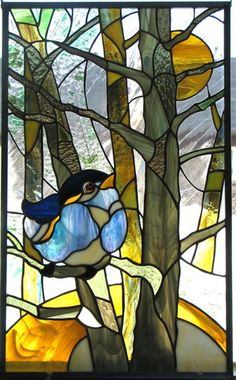 Fado a la Lune by ~pablapicassa (This stained glass would make an excellent quilt project!