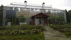 Natural house in Sikhall. I love this, dream home. Mediterranean Architecture, Tropical Architecture, Sustainable Architecture, House In Nature, House Deck, Glass Floor, Earthship, Crystal Palace, House Made