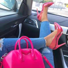 Discovered by lovelykseen. Find images and videos about fashion, pink and shoes on We Heart It - the app to get lost in what you love. High Heels Boots, Heeled Boots, Shoes Heels, Pink Heels, Pretty Shoes, Cute Shoes, Me Too Shoes, Clear Heels, Fashion Heels