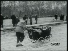 Paris in the snow, 1947 [video] (Repozytorium Cyfrowe Filmoteka Narodowej) # snow Paris France, Snow, Winter, Winter Time, Paris, Eyes, Let It Snow
