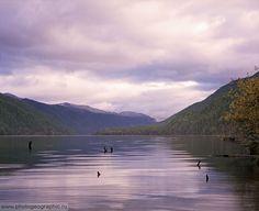 Agul lake , Dagestan , Caucasus , Russia