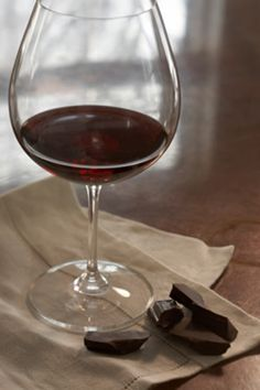 Chocolate and wine pairings.