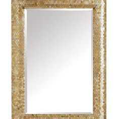 Gold Mosaic Mirror pier1 on sale 9/17 $130