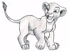 The Lion King - Nala (cub) by 09Dianime.deviantart.com on @DeviantArt