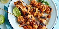 Brochettes de poulet tandooriBrochettes de poulet tandoori