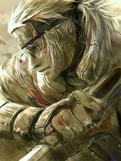 Sakumo Hatake - the white fang. Kakashi's father #naruto #whitefang