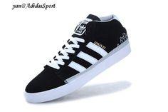 Black Metallic Gold White Adidas Originals Rayado Low Shoes