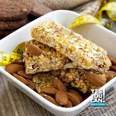 Barra de cereal con proteína