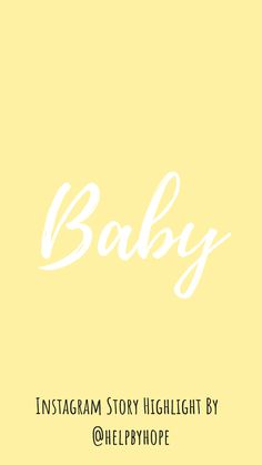 Instagram Quotes, Instagram Story, Highlights, Photo And Video, Digital, Cover, Artwork, Baby, Pregnancy