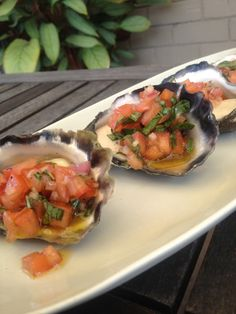 oysters sauce vierge