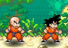 Efsane çizgi film Dragon Ball ve kahramanı Son Goku flash oyun olarak sizlerle. Son Goku ile arkadaşları ve dedesi dövüş tekniklerini kullanarak rakiplerini yenmeye çalışıyor.   http://www.oyuntr.net/2-kisilik-oyunlar