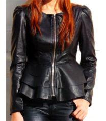 Black Peplum Faux Leather Jacket Black Peplum, Faux Leather Jackets, Must Haves, Fashion, Moda, Fashion Styles, Fashion Illustrations