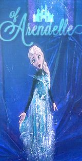 Queen Elsa of Arendelle of DISNEY <3 ELSA FROZEN GIF