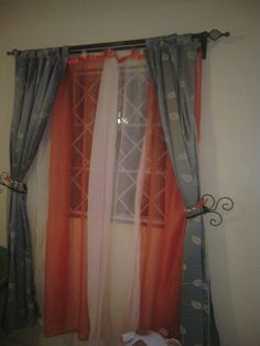 Pumpkin Theme curtains