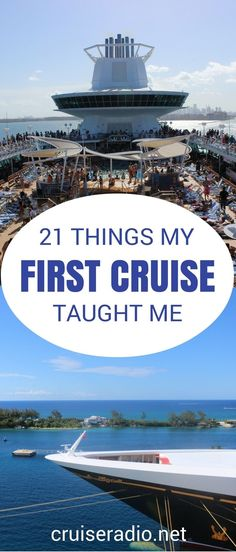 21 Lessons Learned From My First Cruise Your first cruise can be very overwhelming. Here are 21 lessons that I learned after returning from my first cruise vacation. Packing List For Cruise, Cruise Travel, Cruise Vacation, Disney Cruise, Vacation Trips, Vacation Ideas, Shopping Travel, Cruise Checklist, Honeymoon Cruises