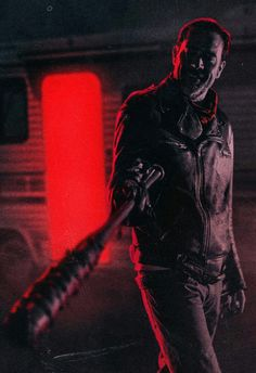 NEGAN -RED FOR DANGER.