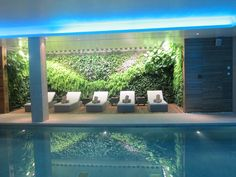 The Indoor Pool and soothing Spa at Castell Son Claret Hotel, Mallorca Happy Holidays, Spa, Indoor, Luxury, Villas, Outdoor Decor, Hotels, Home Decor, Wedding