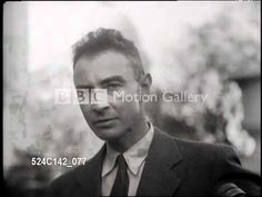 J. Robert Oppenheimer was appointed as technical director of the Manhattan Project. Under his guidance, the creation of the first atomic bomb occured (atomicarchive.com):  Dr. Oppenheimer was brilliant, and I consider his words here to be profound, and a warning to us all.