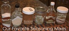 Recipes We Love: Our Favorite Seasoning Mixes