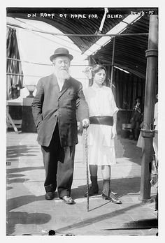 On roof of home for blind  (LOC)