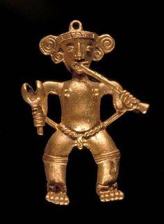 Figural Pendant Date: circa 750-1550