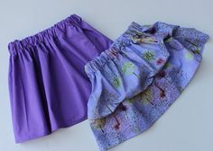 Sewing Clothes for Kids: Basic Skirt Tutorial for girls