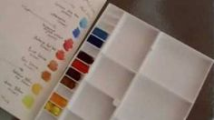 Watercolour Painting Course Part 1, via YouTube.