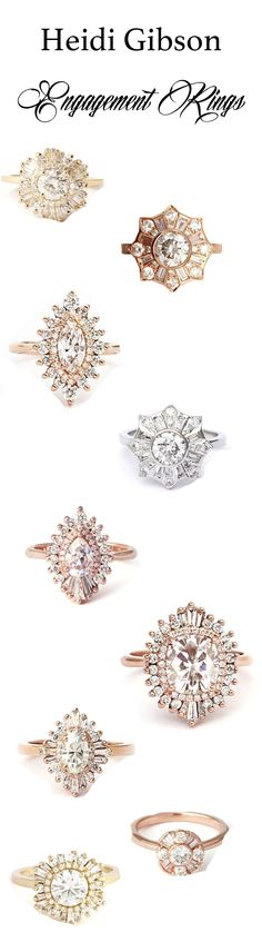 Heidi Gibson engagement rings (wedding)