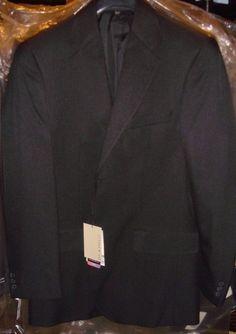 Doc & Amelia Black Blazer Jacket Size 36 Reg New With Aerocool Tags  #DocAmelia #TwoButton