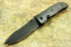 "Bob Terzuola Custom ""Blacked Out"" ATCF Knife"