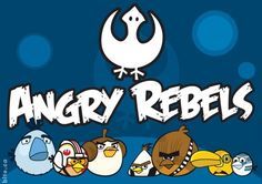 Star Wars Angry Birds.