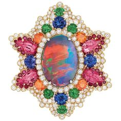 Dior 'Dentelle Opale d'Orient' Ring of the 'Dear Dior' Collection