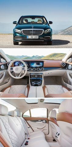 Cool Mercedes 2017: The new E-Class. Masterpiece of Intelligence.  E-Class