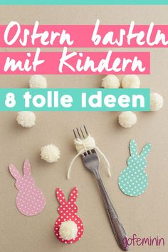 Easter crafts with children - 8 great ideas - gofeminin.de Ostern basteln mit Kindern - 8 tolle Ideen You want to tinker with your children at Easter? Here you will find great things to do with children! Upcycled Crafts, Diy And Crafts, Crafts For Kids, Children Crafts, Kids Diy, Summer Crafts, Fall Crafts, Christmas Crafts, Nature Crafts