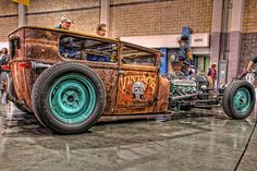 Rat Rod at the Easriders Show in Charlotte by Carolinadoug