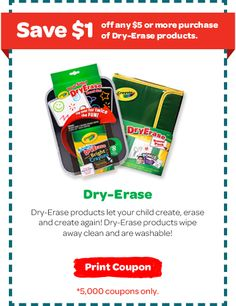 Saving 4 A Sunny Day: 2 Great Crayola Coupons