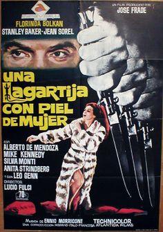 Una lucertola con la pelle di donna (A Lizard in a Woman's Skin), 1971 - Spanish poster