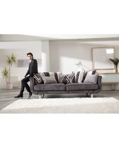 Perfect combination of classicism and modernity. Settee Sofa, Couch, Sofas, Lounge, Metal, Classic, Settees, Lyon, Design