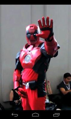 Iron deadpool