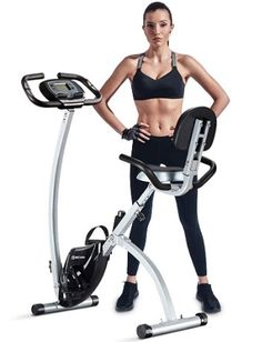 BCAN Folding Exercise Bike Magnetic Upright Bicycle with Heart. Informations About BCAN Folding Ex Folding Exercise Bike, Best Exercise Bike, Upright Exercise Bike, Upright Bike, Exercise Cycle, Yoga Equipment, No Equipment Workout, Fitness Equipment, Bike Cover