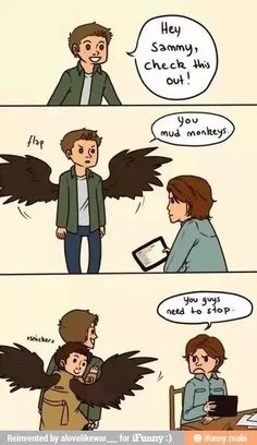 Supernatural jokesters
