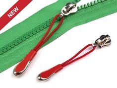 Decorative Auto lock Zipper Slider 5 mm to plastic zippers