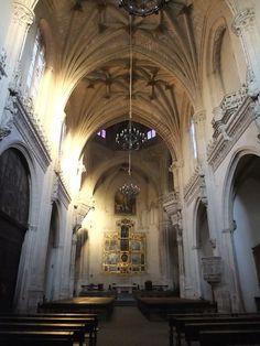 Toledo, Monasterio de San Juan de los Reyes, interior de la iglesia