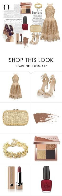 """""""Love Nude"""" by yixingunicorn on Polyvore featuring moda, Vanity Fair, Chi Chi, Topshop, Corto Moltedo, Chanel, Bobbi Brown Cosmetics, Marc Jacobs ve OPI"""