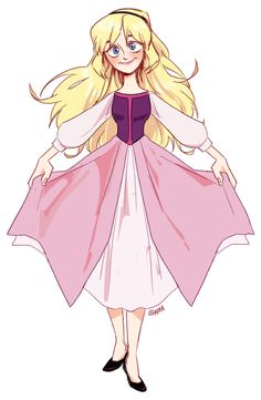 [The Black Cauldron] Princess Eilonwy by area32.deviantart.com on @deviantART