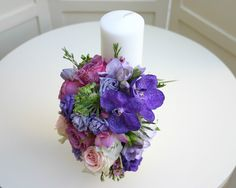 Flowers of Soul: Lumanari de cununie Wedding Flowers, Vase, Candles, Decor, Dekoration, Decoration, Flower Vases, Candy, Wedding Bouquets