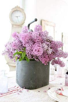 Lilac loveliness.  I love them so.