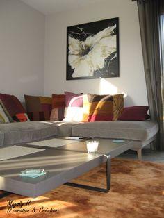 salon moderne et chaleureux dans la rgion rhne alpes - Salon Moderne Etchaleureux