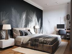 home decor bedroom wall art Home Decor Bedroom, Modern Bedroom, Bedroom Wall, Wall Beds, Bedroom Ideas, Bedroom Rustic, Minimalist Bedroom, Bedroom Inspiration, Bedroom Apartment